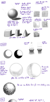 Shading Part1 - Research And Practice Sheet by Minks-Art