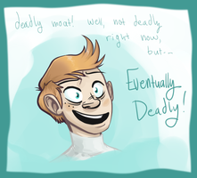 Eventually Deadly Moat by ZazzyPaws