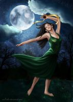 -'' Moonlight Dance ''- by Sliding-Panda