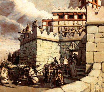 Mycenaean Siege by LordGood