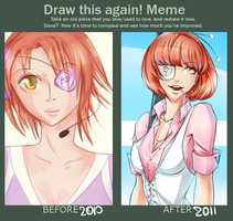 Before and After meme by Kristallin-F
