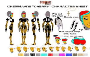 Cherry Character Sheet by EdGPatterson