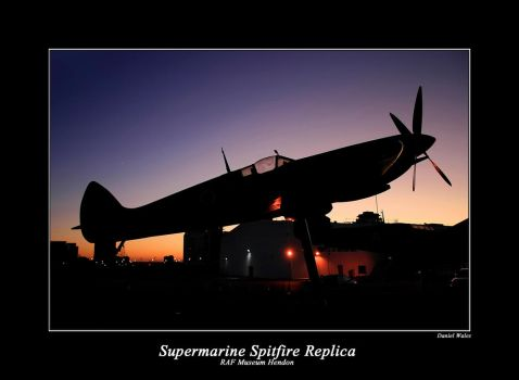 Spitfire Sunset by Daniel-Wales-Images