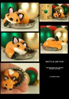 Fox In A Bottle Cap by CatharsisJB
