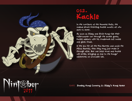 Nintober 012. Kackle by fryguy64
