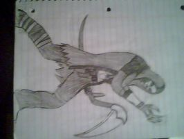 reaper with scythe by Linkmaster101