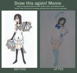 Draw this again!meme Sailor Comet 2012-2014 by TwinVampire
