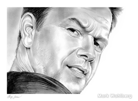 Mark Wahlberg by gregchapin