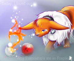 Fragile friendship by Wolf-In-Tears