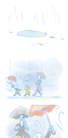 Undertale - rainy day by dust4148