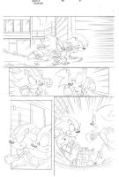Sonic x #40 pg 4 by Dhutchison