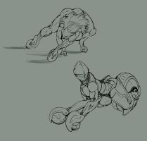 Mech Morphing by ErnCer