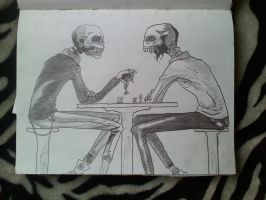 Never ending chess game by brokencyde234