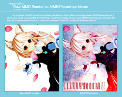 Raw MMD/MME vs. Photoshop? by nyoomy