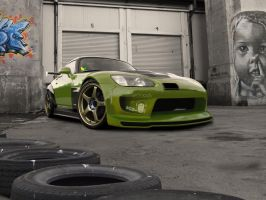 Honda S2000 by degraafm