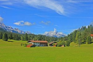Little House on the..... Alps. by like-a-seahorse
