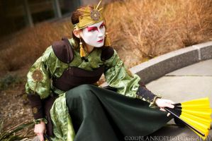 Kyoshi Warrior Suki: Ready by Syagria