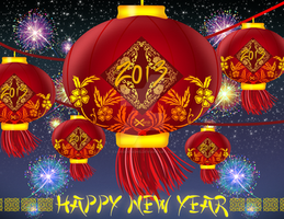 Exoro Choice's 2013 Chinese New Year Cards 06 by ExoroDesigns