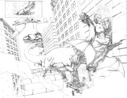 Dinew York Pencils by MBDavenport
