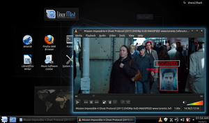 Linux Mint 12 KDE Ghost Protocol by Draco23hack