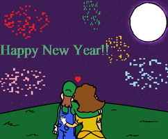 Happy new year by luigi2cool