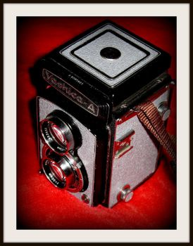 Yashica Model A in grey Griptac by FallisPhoto