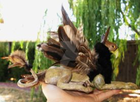 Gryphon Sculpture 1 by SPPlushies