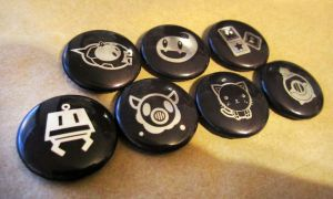 Metallic animation button set by GoshaDole
