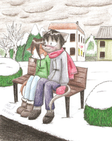 Hold Me Close, Keep Me Warm by Mister-Saturn