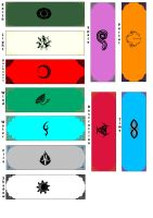 Godcrest Bookmarks by Dimension-Chronicles