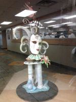 Masquerade Chocolate Sculpture Display by sunflora263