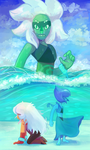 Who lives as a fusion under the sea? by lilowoof