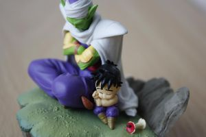 Piccolo and Gohan by Roxi-art