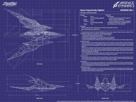 StarFox Arwing Mk 1 WP Revamp by CalicoStonewolf