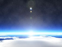 Earth View by Del-Korey