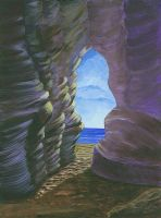 Cave by valenta