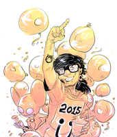 Fuck 2014, welcome 2015 by BriZel