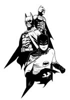 Batman - Generations by LRitchieInk