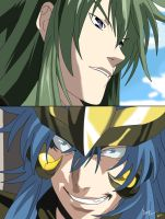 degel and kardia by Oceanmermaid