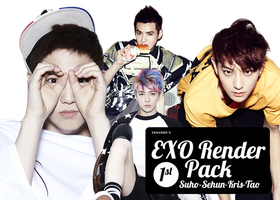 EXO Render/PNG pack by seaweed96