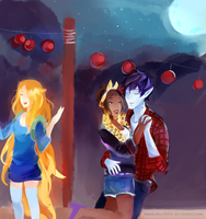 Adventure Time: Bad Little Boy~ by musicalscribble