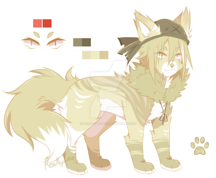 |CLOSE Auction|SB 300pts/$3 Adopt Canine#4 by RenAyumeDeer