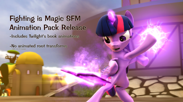 Animation Pack Release for Fighting is Magic SFM by pbh19950