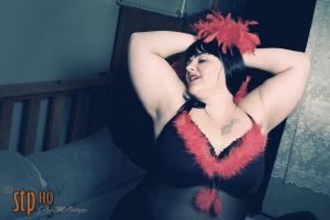Ann christmas lingerie shoot 07 by stphq