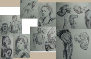 Ball Point Value Scribbles by FUNKYMONKEY1945