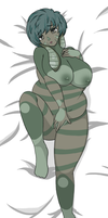 Art Trade: Chantelle Dakimakura by Moargun