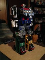 Turbo Megazord Figure by SuperVegeta71290