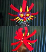 Skull Kid Cosplay WIP by Belle43