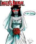 Dave's Bride by 0-w-VaLe-Chan-w-0