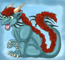 Chibi dragon by dragonrace